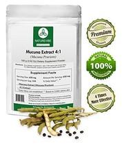 Naturevibe Botanicals Mucuna Extract 4:1 100 Grams - 4 x More Effective ... - $15.55