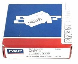 NIB SKF 6207 M/C3S0VQ335 BALL BEARING 6207MC3S0VQ335
