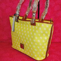Dooney & Bourke Gretta Yellow Leisure Shopper Tote image 3