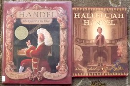 2 books Handel Who Knew What He Liked and Hallelujah Handel - $5.00