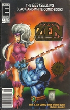 (CB-8) 1993 Entity Comic Book: Zen Intergalactic Ninja #1 - $3.00