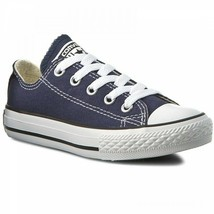 Converse All Star Ox Navy 3J237 Low Top Grade School Youth Size 2 - $34.95