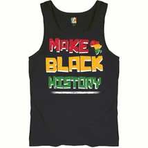 Make Black History Tank Top Human Rights Activism Equality Freedom Men's... - $12.47+