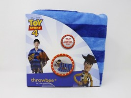 Jay Franco & Sons Disney Pixar Toy Story 4 Silky Soft Fleece Throwbee -- New - $24.99