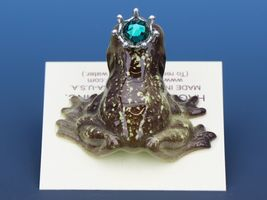 Birthstone Frog Prince Kissing May Emerald Miniatures by Hagen-Renaker image 4