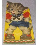 Vintage Puffy Kitten by Margot Voigt Lowe Publishing Children's Book 1941 - $7.95