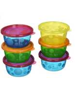 Take & Toss Toddler Bowls with Lids - 8oz, 6 pack free shipping - $4.94