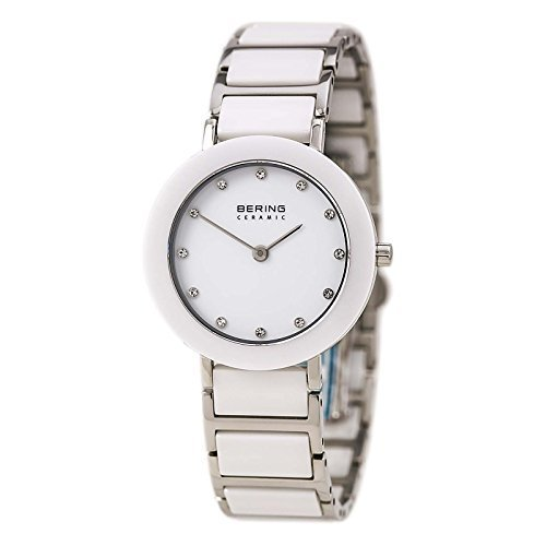 BERING Time 11429-754 Womens Ceramic Collection Watch with Stainless steel Band