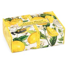 Michel Design Works Lemon Basil Boxed Single Soap 4.5oz - $8.95