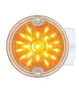 """United Pacific 31217 amber/clear 1/4"""" 21 Led 3 Round Harley Signal Light... - $49.45"""
