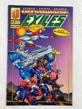 Ultraverse Exiles Featuring Bloodbath Vol 1 Issue 2 September 1993 Malib... - $5.89