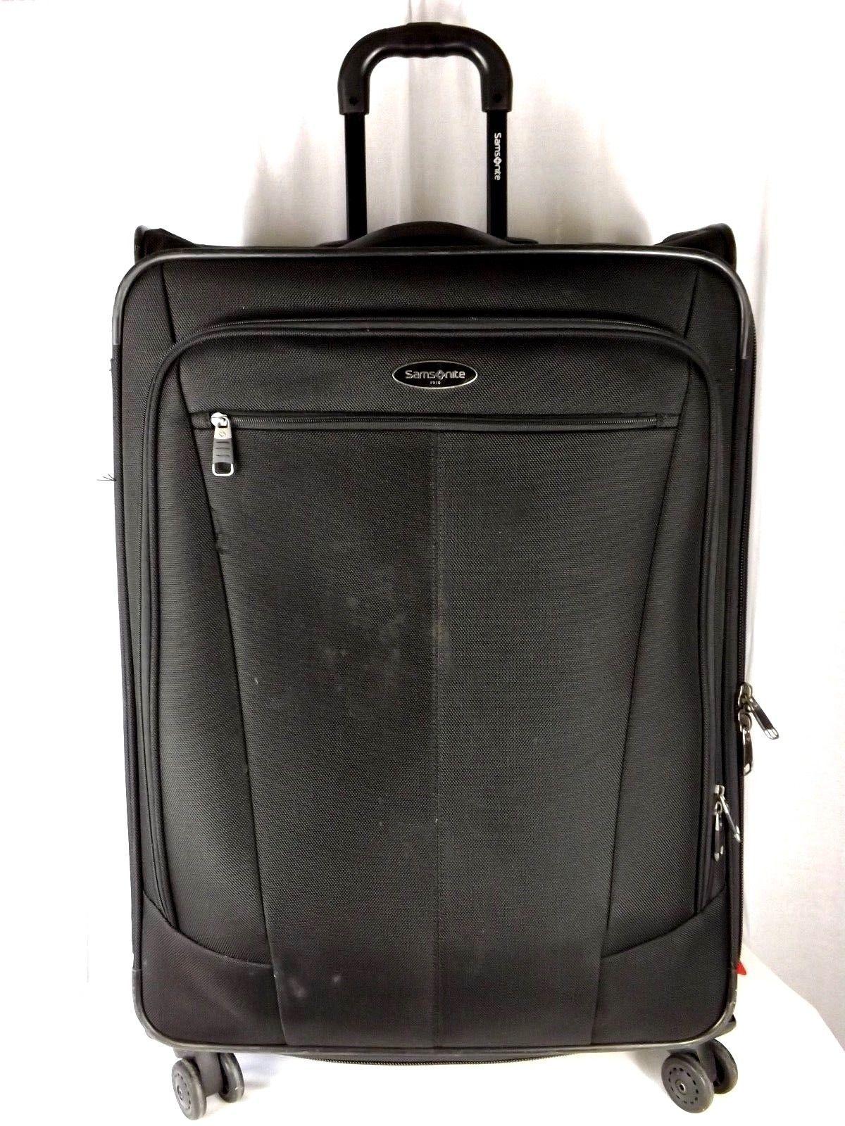 """Samsonite 1910.... 29"""" Expandable Spinner Upright Suitcase Luggage - Black"""