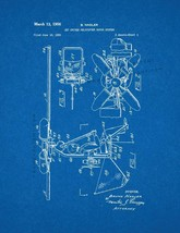 Jet Driven Helicopter Rotor System Patent Print - Blueprint - $7.95+