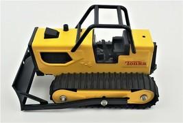 Vintage Tonka Yellow T-6 Bulldozer Pressed Steel Construction Toy USA - $73.24