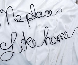 No Place Like Home Sign For Rustic Farmhouse Decor, Mud Room Decor, Fron... - $65.00
