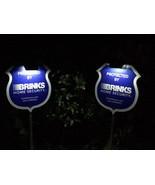 *NEW* 2 Reflective Brinks Signs + 6 Door/Window 2-sided Decals + 2 Solar... - $69.99