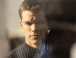 MATT DAMON AUTOGRAPHED Hand Signed 11x14 PHOTO The Bourne Identity w/COA... - $79.99