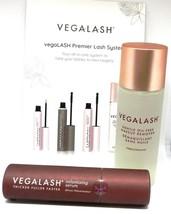 VEGALASH Volumizing Serum & Oil Free Makeup Remover 100% Vegan Gluten Fr... - $59.99