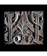 Gothic Tile Plaque Relief Ornment Replica Reproduction - $54.45