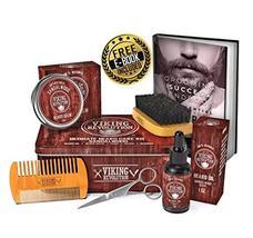 Beard Care Kit for Men- Sandalwood- Ultimate Beard Grooming Kit includes 100% Bo image 7