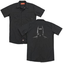 Batman - Batman Noir (Back Print) Adult Work Shirt - $44.99+
