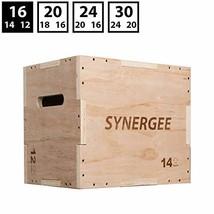 iheartsynergee 3 in 1 Wood Plyometric Box Jump Training Conditioning. Wo... - $53.55