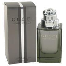 Gucci (New) 3.0 Oz Eau De Toilette Cologne Spray image 2