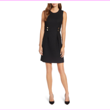 Anne Klein Women's Sleeveless Jewel Neck Back Zip Closure Dress - $28.29