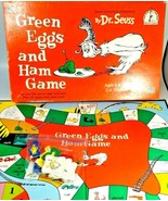 Green Eggs and Ham Game Board Game by University Games Complete 1996 Dr.... - $17.81