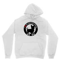 I Heart My Yorkshire Terrier Shirt Dog Lover Pet Owner Unisex White Hoodie Sweat - $24.95+