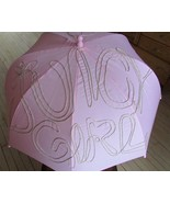 Juicy Couture Girl Pink Umbrella Gold Glitter - $44.54