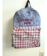 Longaberger Backpack  Bee 1998 Zippered Bag - $9.85