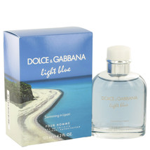Light Blue Swimming in Lipari by Dolce & Gabbana Eau De Toilette  4.2 oz... - $57.48