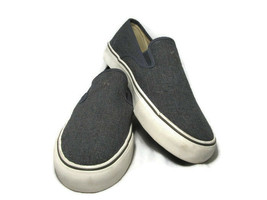 Polo Ralph Lauren Mytton Men's Canvas Blue Sneakers Shoes Burlap Slip On... - $38.60