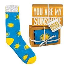 Primitives by Kathy 105545 Decorative Box Sign & Pair of Socks Gift Set - You ar - $21.00