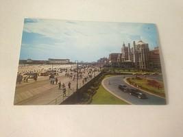 Vintage Postcard Board Walk Atlantic City Automobiles Cars  M9 - $11.63