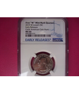 2019 W Lowell Early Releases Quarter MS66 West Point NGC - $159.99