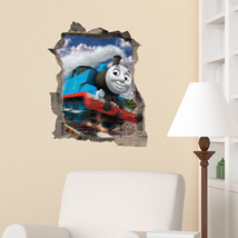 Thomas The Tank Engine in wall Kids Boy Bedroom Vinyl Decal Wall Sticker... - $4.87+