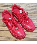 Nike Size 8.5 Women's 2009 Air Force One Valentines Day Red Gold Sneaker... - $71.24