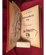 Ray Bradbury - Fahrenheit 451 - 1955 Sci Fi Book Club, 2nd/2nd signed in... - $343.00