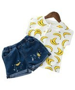 Children Clothing 2019 Summer Toddler Girls Clothes 2pcs Outfits Kids Cl... - €11,85 EUR+
