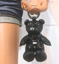 Coach Bear Star Wars Leather Darth Vader Keychain Bag Charm F88049 New W... - $116.82