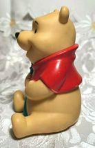 "Vintage Winnie the Pooh with Blue Cane Plastic Figurine 4"" Tall image 6"