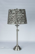 """Urbanest Adjustable Accent Lamp with 12"""" Snakeskin Lampshade, 5 finishes - $79.99"""