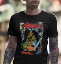 Werewolf by Night T Shirt retro 1970s Marvel Comics horror cotton graphic tee image 3