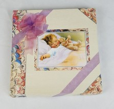 Vintage Blushing Rose baby first album journal memories - $34.60