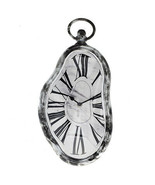 NEW! SALVADOR DALI INSPIRED MELTING WALL CLOCK -PERSISTENCE OF MEMORY TI... - $19.75