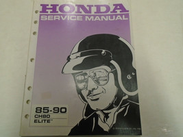 1985 - 1990 Honda CH80 Elite Service Repair Shop Manual Factory OEM Book... - $38.01