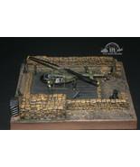 Chopper Revetment Vietnam War Diorama Base 1:48 Pro Built Model  - $272.25
