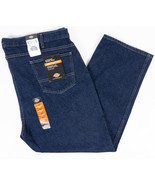 Dickies Regular Fit Straight Leg Mens Work Jeans Dark Wash Size 46x30 - $15.65